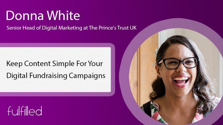 Digital fundraising content campaigns